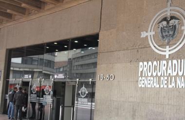 Sede de la Procuraduría.