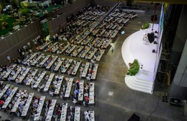 El encuentro ExpoProBarranquilla, realizado en el Puerta de Oro.