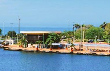 Muelle de La Bodeguita.