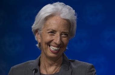 Christine Lagard, directora gerente del FMI.
