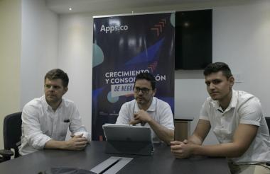Mauricio Medina Cruz, Carlos Rozo y Fredy Zuluaga durante entrevista a El Heraldo.