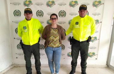 Gisell de Jesús Gómez Salazar, de 31 años, a quien la Policía Metropolitana de Barranquilla capturó en las últimas horas.