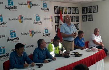 Ayer se realizó la presentación oficial de la competencia de ciclismo local.