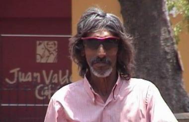 Gustavo 'El Indio' Del Risco.