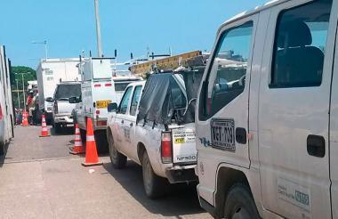 Siete cuadrillas trabajan desde la medianoche de este sábado para restablecer el servicio en el Centro Histórico de Cartagena.