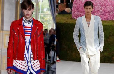 El príncipe Nicolás, hijo del príncipe Joaquín de Dinamarca, fue uno de los modelos de Dior.
