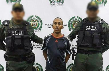 Fredes Correa, capturado por el delito de extorsión.