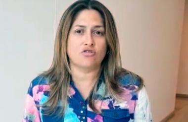 Alma Solano, secretaria Distrital de Salud.