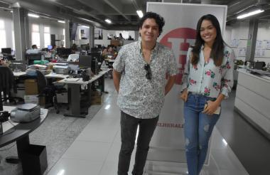 Luis Fernando Malagón y Alejandra Murgas.