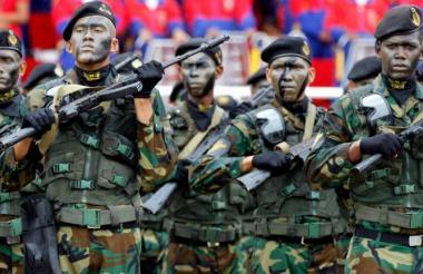 Ejército venezolano.