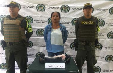 Adalgisa Romero, de 51 años,  fue mostrada a la prensa por parte de la Policía de Córdoba.