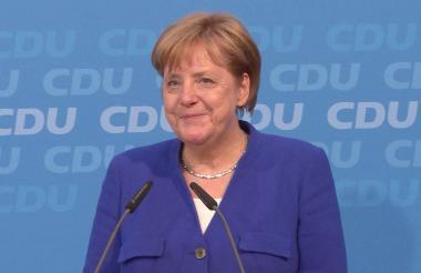 Ángela Merkel, canciller de Alemania.