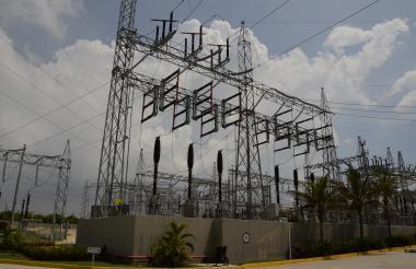 Equipos que hacen parte de la infraestructura de Termoflores en Barranquilla.
