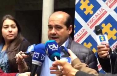Luis González, director Nacional de Fiscalías y Seguridad Ciudadana de la Fiscalía.