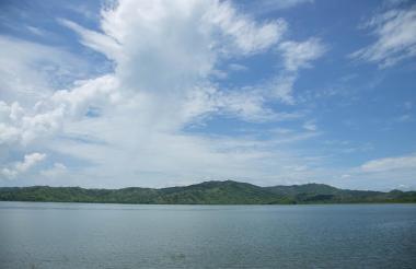Panorámica de la Laguna de Luruaco, desde donde se capta actualmente el agua del municipio.