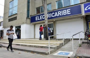 Sede de Electricaribe en Barranquilla.