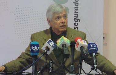 El presidente de Fasecolda, Jorge Humberto Botero.