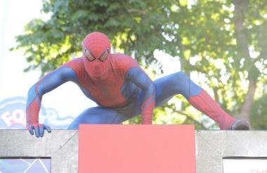 El superhéroe  Spider-man , creación de Ditko.