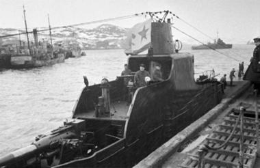 Submarino de la época Nazi.