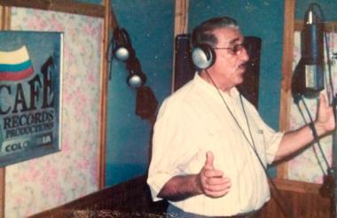 El músico barranquillero de 89 años, Julio Erazo Cuevas.