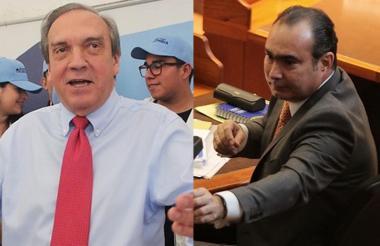 Luis Alfredo Ramos y Jorge Pretelt.
