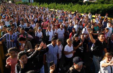 Más de un millón de personas habrían ingresado a Colombia procedentes de Venezuela a raíz de la crisis que vive ese país. Las autoridades tienen registradas a 442.462.