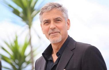 George Clooney, actor y director de cine estadounidense.