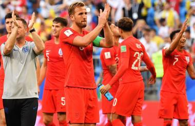 Los ingleses están a un paso de la final del Mundial.