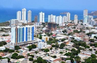 Panorámica de Santa Marta.