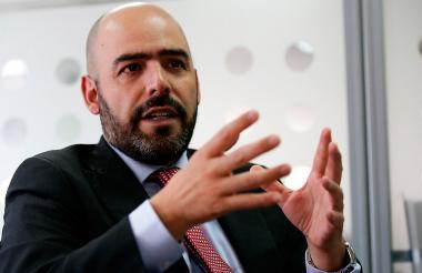 El presidente de la SAC, Jorge Enrique Bedoya.