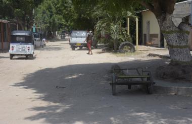 Sector del barrio San Sebastián donde fue asesinado Rodolfo Antonio Jiménez Marín.