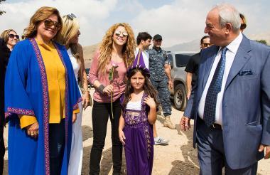 Shakira fue invitada al Festival Internacional del Cedro.