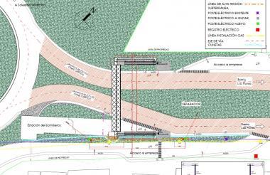 El cierre de la Circunvalar será este domingo  entre Vía 40 y la glorieta frente planta concreto Argos. La medida obedece al montaje de un puente peatonal.
