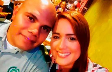 Ginna Ricardo y el teniente Juan Carlos Agámez, investigados por la Fiscalía.