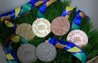 130 millones de pesos, según la organización de los Juegos, costó la fabricación de las medallas.