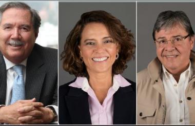 De izquierda a derecha: Alberto Carrasquilla, Ministro de Hacienda; Guillermo Botero, Ministro de Defensa; Nancy Gutiérrez, Ministra del Interior; Carlos H. Trujillo, Ministro de Relaciones Exteriores; Jonathan Malagón Ministro de Vivienda.