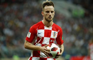 Iván Rakitic, jugador de la selección de Croacia.