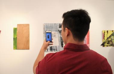 Objetos abstractos hacen parte de la muestra.