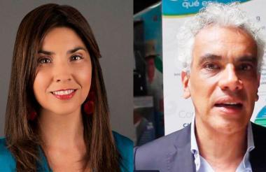 María Victoria Angulo y Ricardo Lozano.