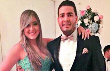 Daniella Ahumada Comas y su pareja Mateo Cabrera Urueta, buscado por las autoridades.