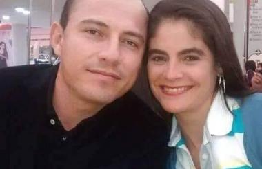 La pareja en una foto reciente.