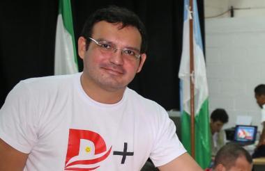 Dagoberto Barraza Sanjuan, secretario de Educación de la Gobernación del Atlántico.