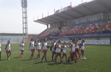 Jugadoras de la Selección Venezuela.