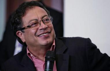 Gustavo Petro, exalcalde de Bogotá.