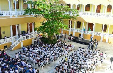 Más de $4 mil millones invirtió el Distrito  en segunda fase de Liceo Celedón.
