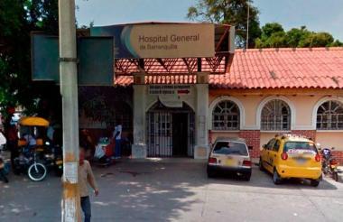 El menor es atendido en el Hospital de Barranquillaa.