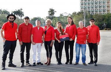 Delegación del ELN.