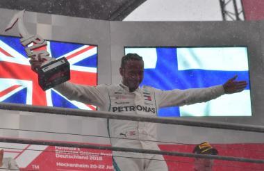 El piloto británico Lewis Hamilton.