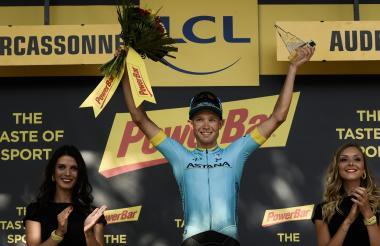 Magnus Cort Nielsen, ganador de la etapa 15 del Tour.