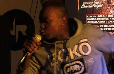 Wesly Lotog, rapero haitiano.